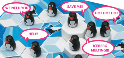 Save the Penguins Competition