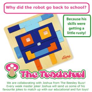 Pkolino shape puzzle Robot