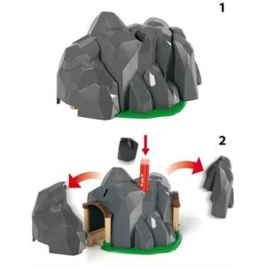 Brio Railway Dynamite tunnel 3