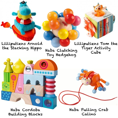 Top Toys for babies this Christmas