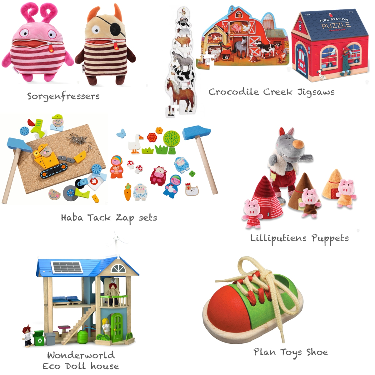Toys and Gifts for Children of Each Age Group
