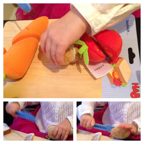 Chopping Haba Vegetables