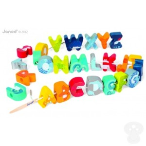 There are many ways that you can help your child with letter recognition. These alphabet beads can help! TheToadstool.co.uk