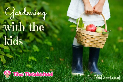 Gardening with the kids~ TheToadstool.co.uk