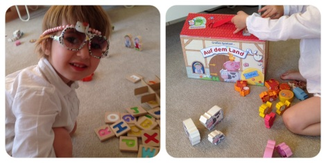 Plan Toys Letters and Haba Farm