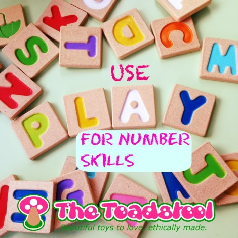 Plan-Toys-using play for number skills~TheToadstool.co.uk