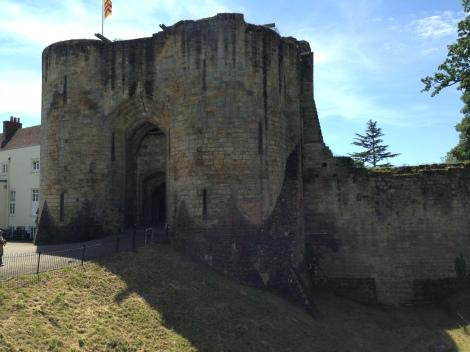 Tonbridge castle in Kent