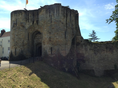 Tonbridge castle in Kent