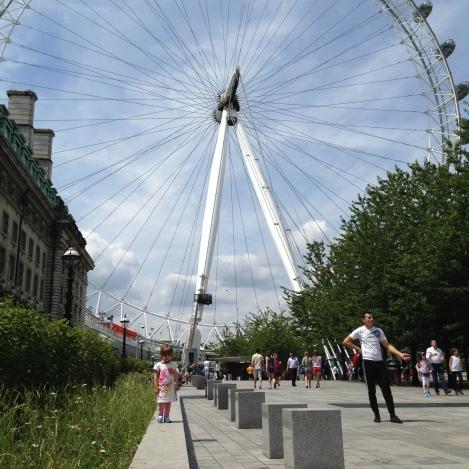 Visiting the London Eye