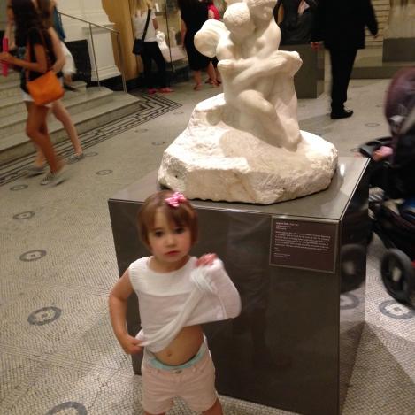 Rodin Statue